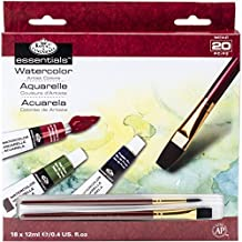 Royal Brush and Langnickel Watercolor Paint, 18-Piece
