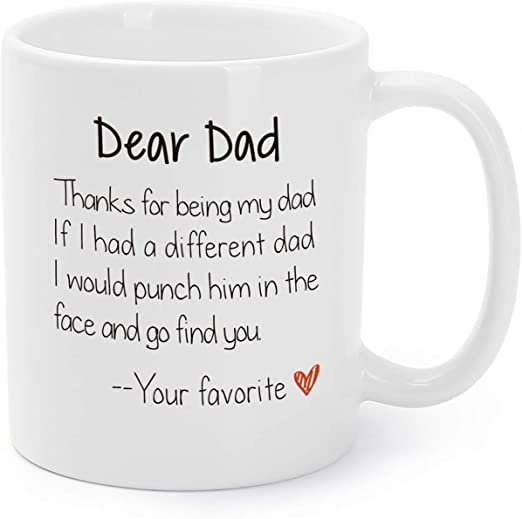 6,12 or 24 DAD Vinyl Decal Sticker For Mug Fathers Day Gift Pint Glasses
