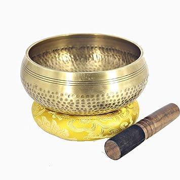 Amazon.com - HCDMRE Tibetan Singing Bowl 7.87 Inch ...