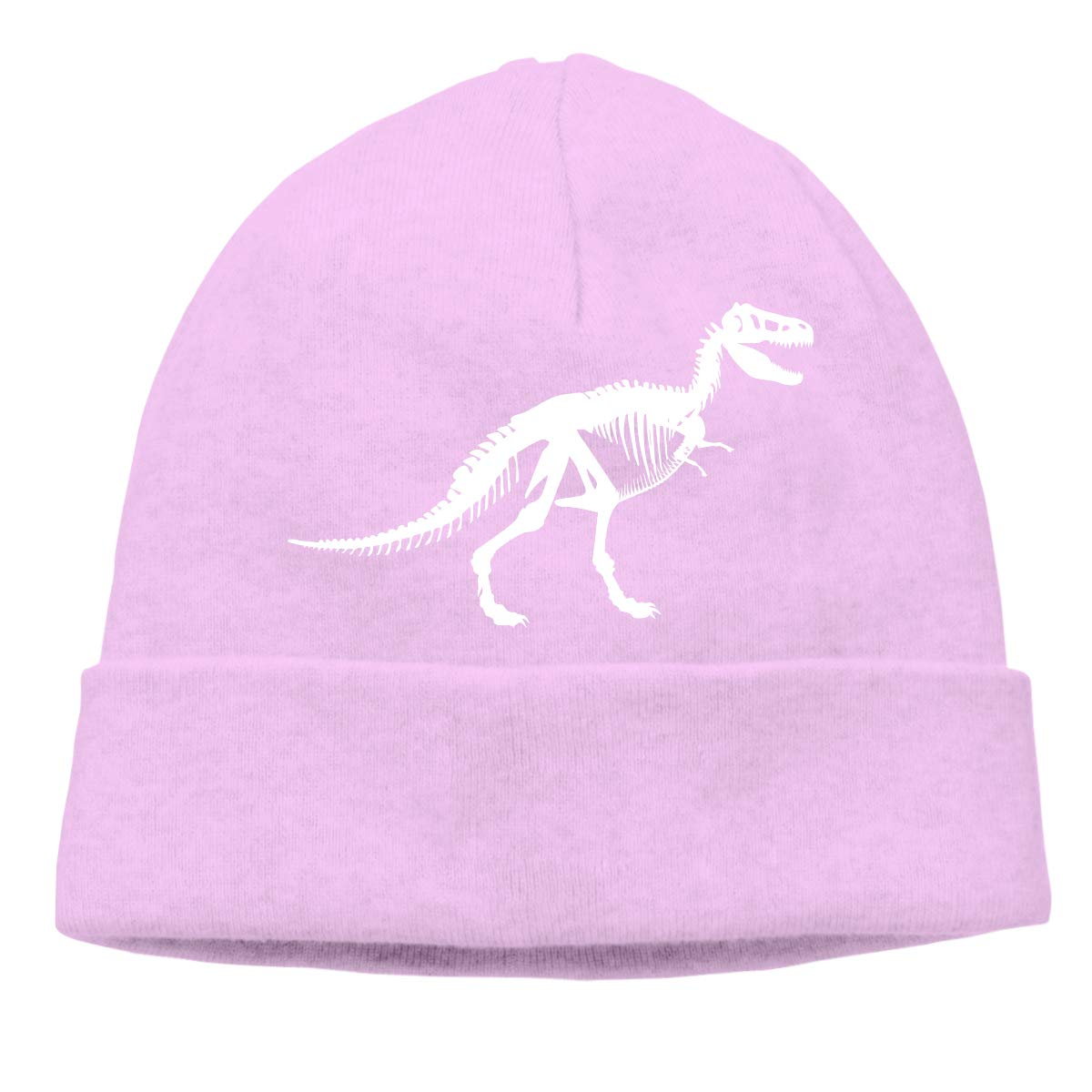 T Rex Skeleton-1 Men /& Women Thick Sports Beanie Skull Cap