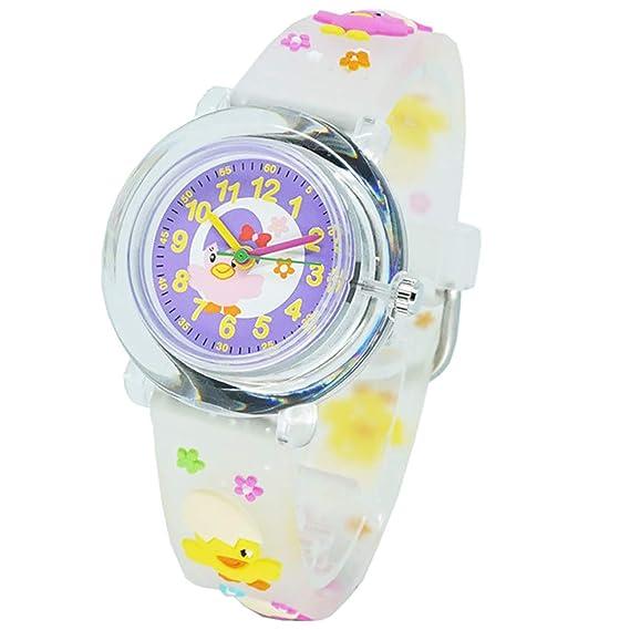 Los niños niños Teen Reloj, impermeable adolescente estudiante reloj regalo para niños niñas adolescentes (