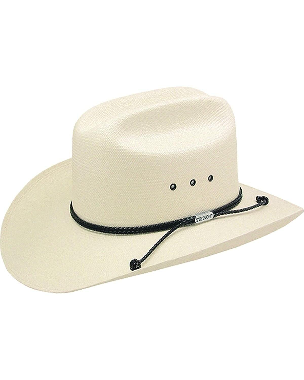 Stetson Men's Carson 10X Shantung Straw Cowboy Hat - Sscrcmk6036 099C69