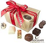 Leonidas Chocolate Gifts: 14 Assorted Belgian Pralines, Butter Creams, Truffles, Ganache 270g