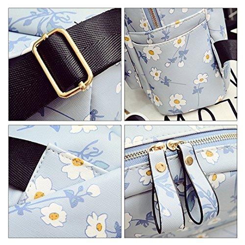 Millya - Bolso mochila  para mujer Rice White azul