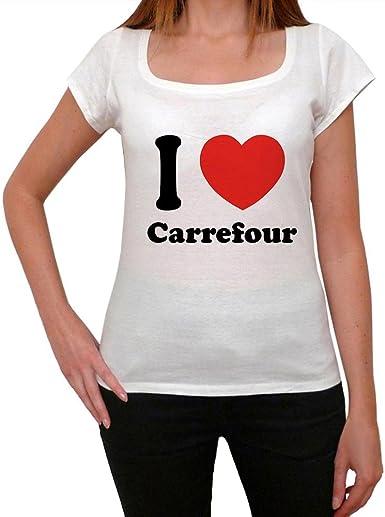 Ultrabasic Carrefour Camiseta Mujer Viajando En Carrefour Amazon Es Ropa Y Accesorios