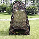 Camouflage Portable Camping Toilet Pop Up Tent Privacy Shower Changing Room