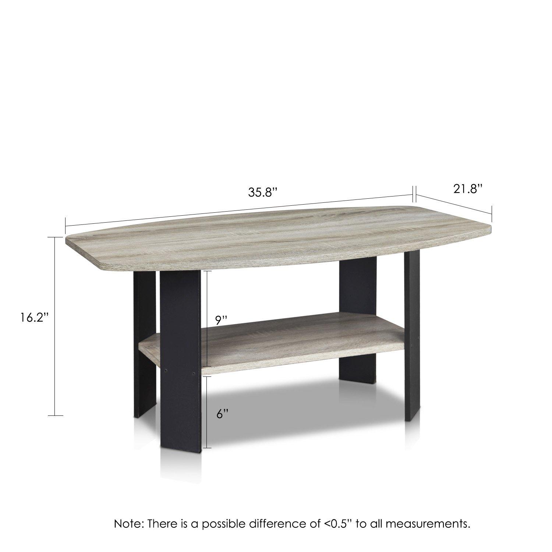 Amazon FURINNO GYW BK Simple Design Coffee Table