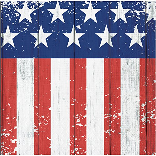 Patriotic Glory Beverage Napkins, 48 ct ()