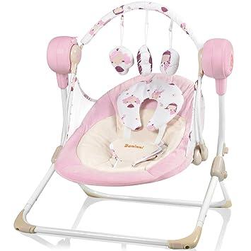 Eléctrica Baby Balancín Color Rosa niña baninni Stelton Lino ...