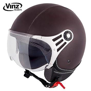 Amazon.es: Casco de moto Vinz, casco tipo jet, moderno ...