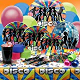: 70's Disco Deluxe Party Kit (8 guests) Adult