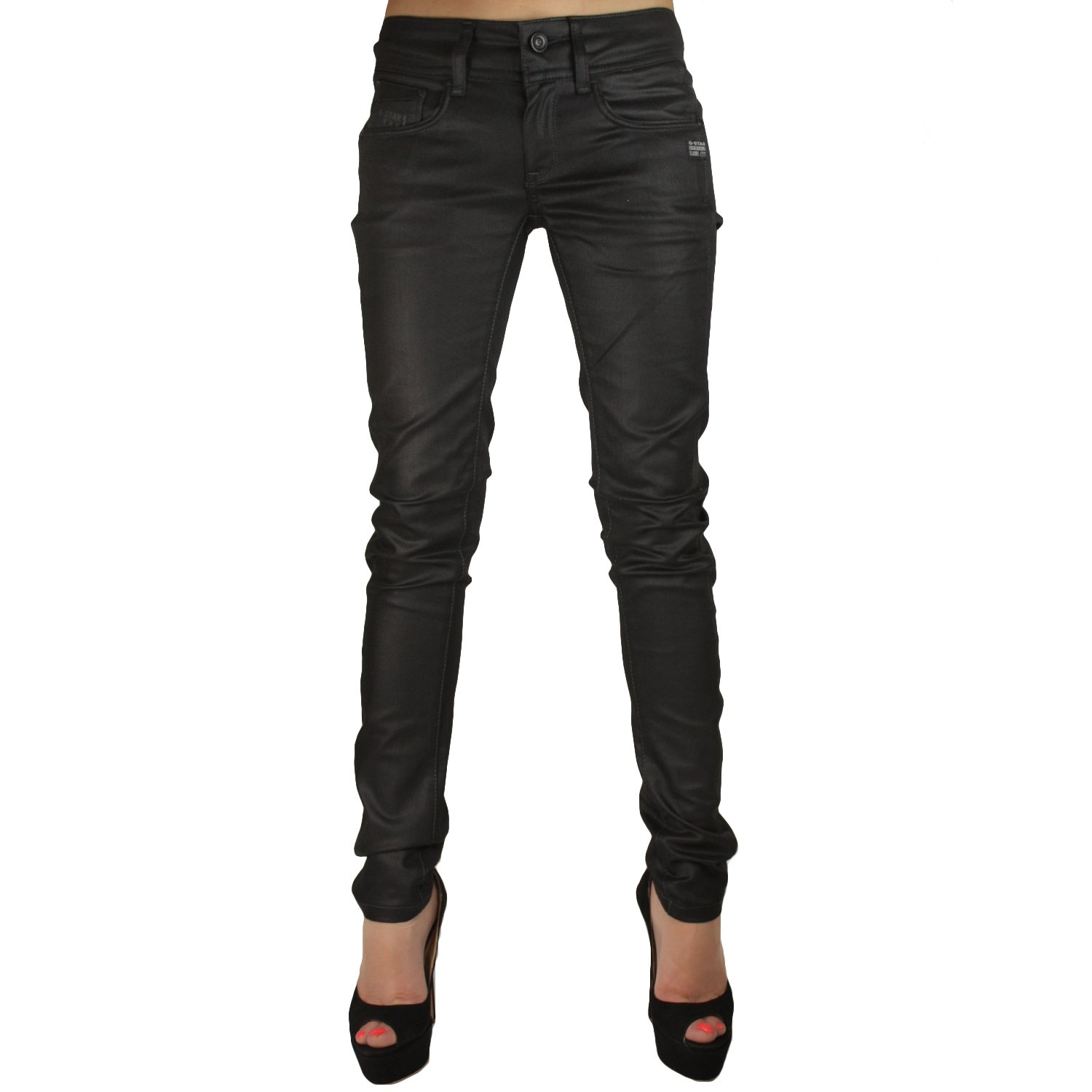 G-star Women's Attacc Staright Jeans Pant 60583.5245.89 Dk Aged (28x32)