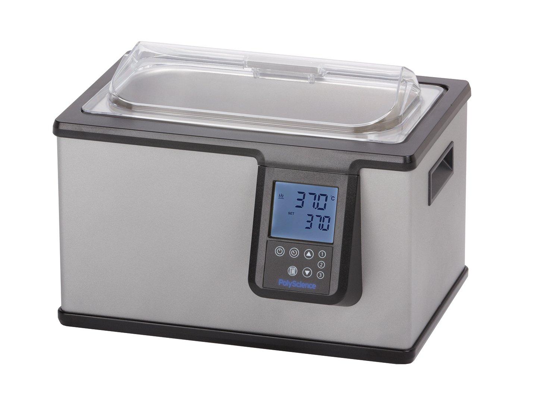 PolyScience WB05A11B Digital General Purpose Water Bath, 5 L Capacity, 120V/60 Hz