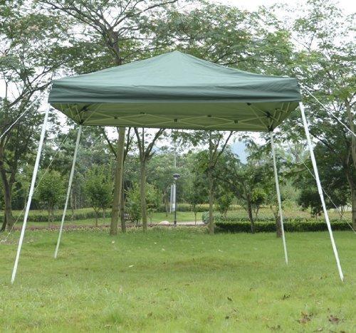 Outsunny Slant Pop Up Canopy 8 Feet