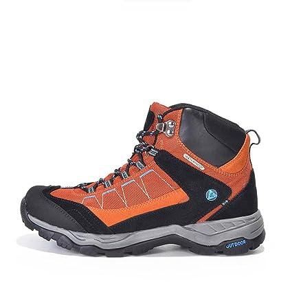 4bb3c547f8762 Amazon.com: Hiking Shoes Man Tactical Outdoor Waterproof Antiskid ...