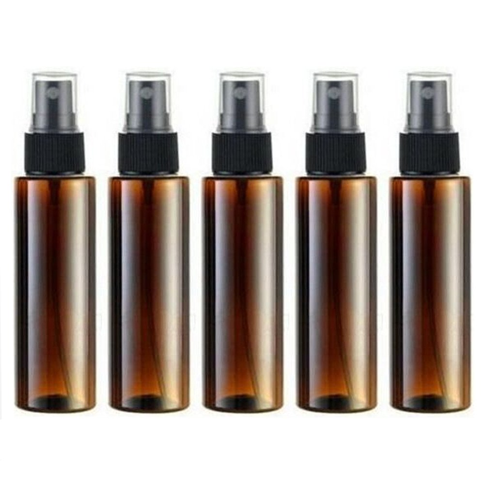 Amazon Com Empty Plastic Spray Bottle 100ml 5 Piece 3