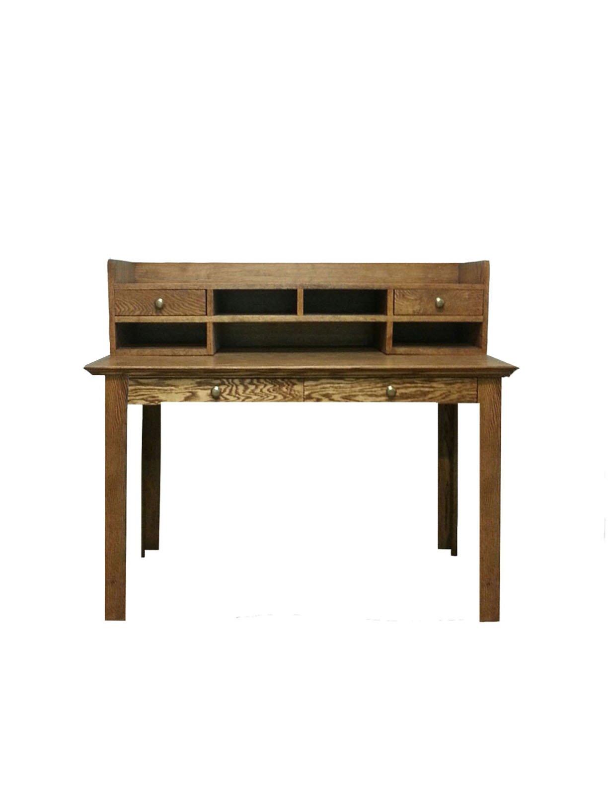 Forest Designs Traditional Mini Hutch (No Desk), 72''W, Unfinished Alder