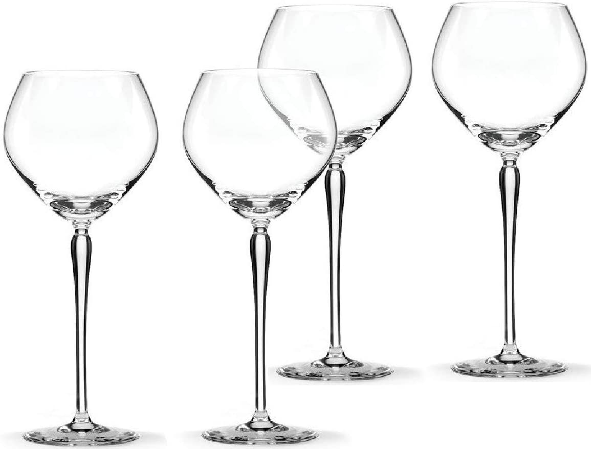 Lenox kate spade new york Bellport 14 Ounce fine crystal Wine Goblets, Set of 4 New in box