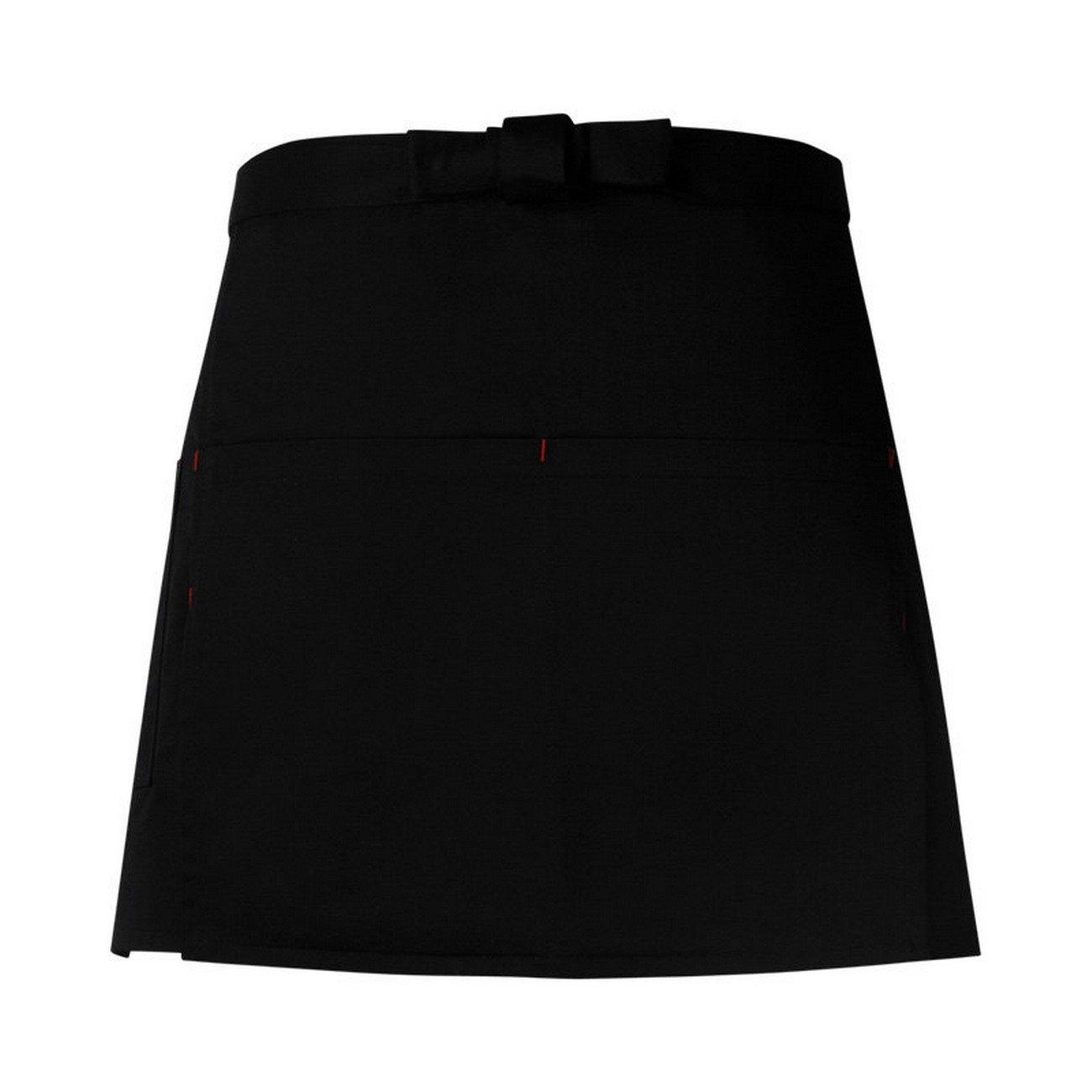 ファッションバストよだれかけエプロンポケット付きMan WomanウェイターChef Uniformキッチンレストラン料理Bistroエプロン OneSize OneSize Black-810 B07FF8NY15