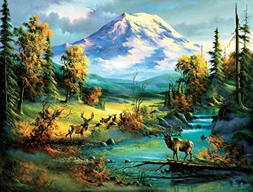 Majestic View a 300-Piece Jigsaw Puzzle by Sunsout Inc.