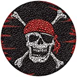 Pirate Flag Pool Mosaic Art – Small 29″ Diameter For Sale