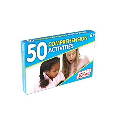 Junior Learning 50 Comprehension Activities: Toys & Games