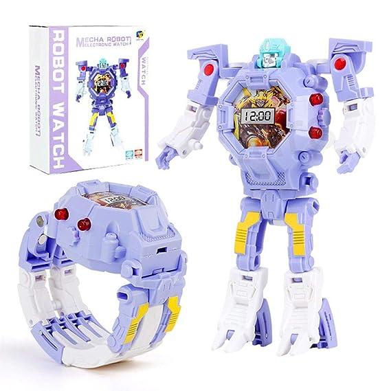 Juguete Kids De In Electronic Toys 2 1 Transformers Reloj zpSVMU
