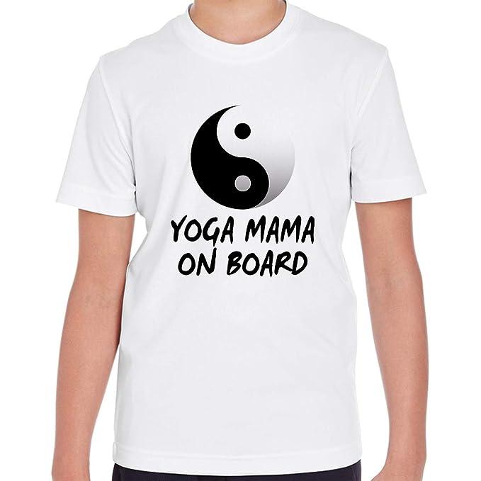 Amazon.com: Makoroni - Yoga Mama ON Board Yin Yang Yoga ...