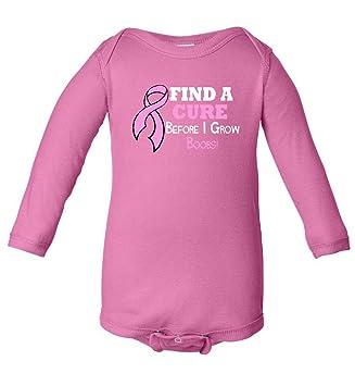 Amazon.com: Encontrar una cura antes de I Grow Boobs cáncer ...