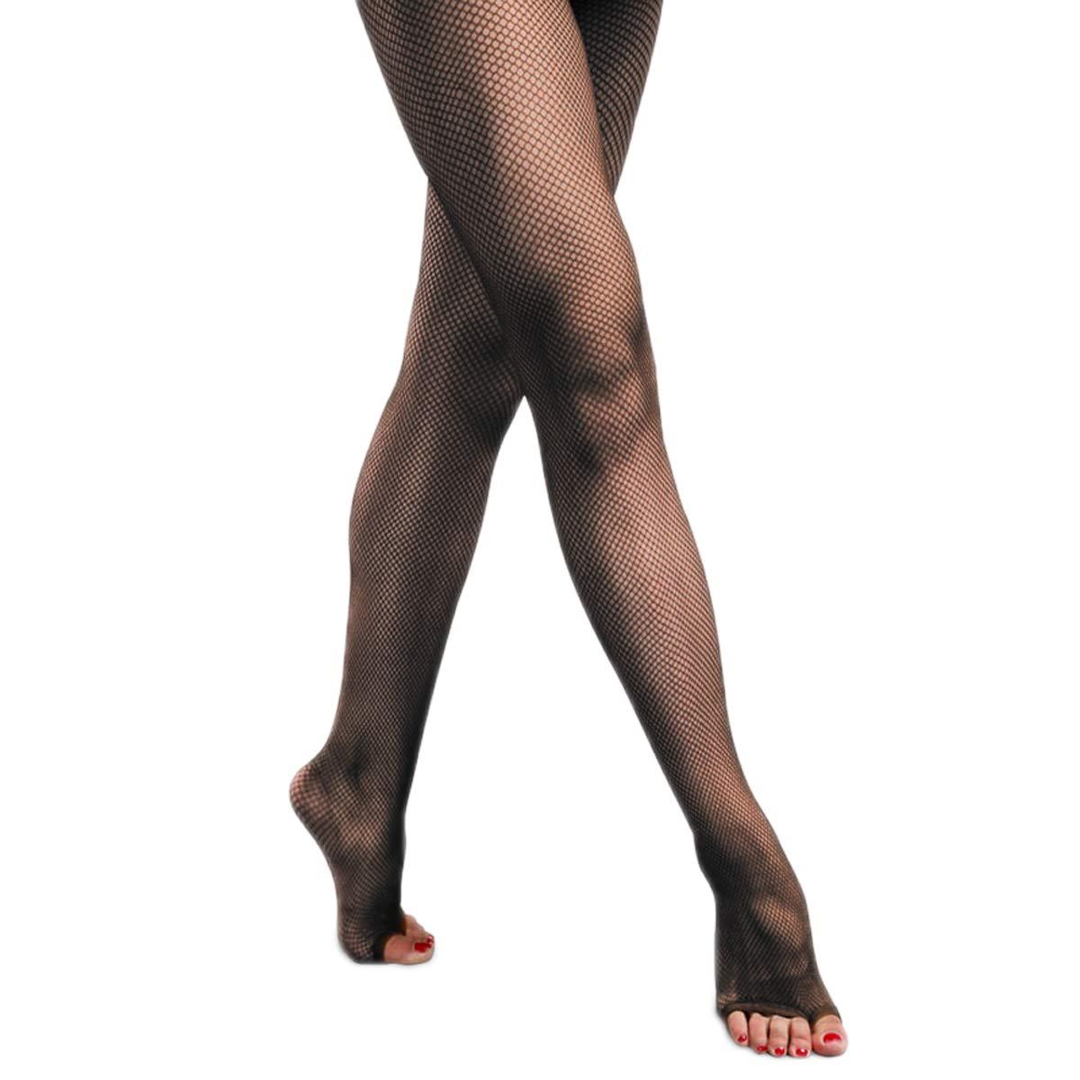 e02120b3be8e0 Amazon.com: Pitping Latin Dance Pantyhose Stockings Socks Open Toe Fishnet  Toeless Tights ,Beige,One Size: Clothing