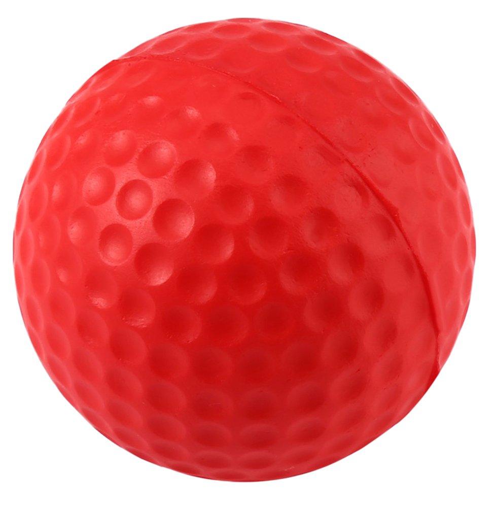 Gracefulvara 10pcsレッドゴルフクラブPUボールインドアPractice Foam Toy Ball   B06WWRJZQZ