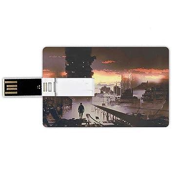 8GB Forma de tarjeta de crédito de unidades flash USB Fantasía ...