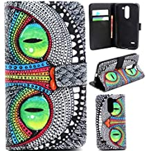 LG D690 Case,LG D690 G3 Stylus Case, Gift_Source [Stand Feature] Magnetic Snap Case Wallet [Wallet S] Premium Wallet Case Flip Case Cover Skin for LG G3 Stylus D690(Not for LG G3) -Owl Pattern ,Sent Stylus Pen