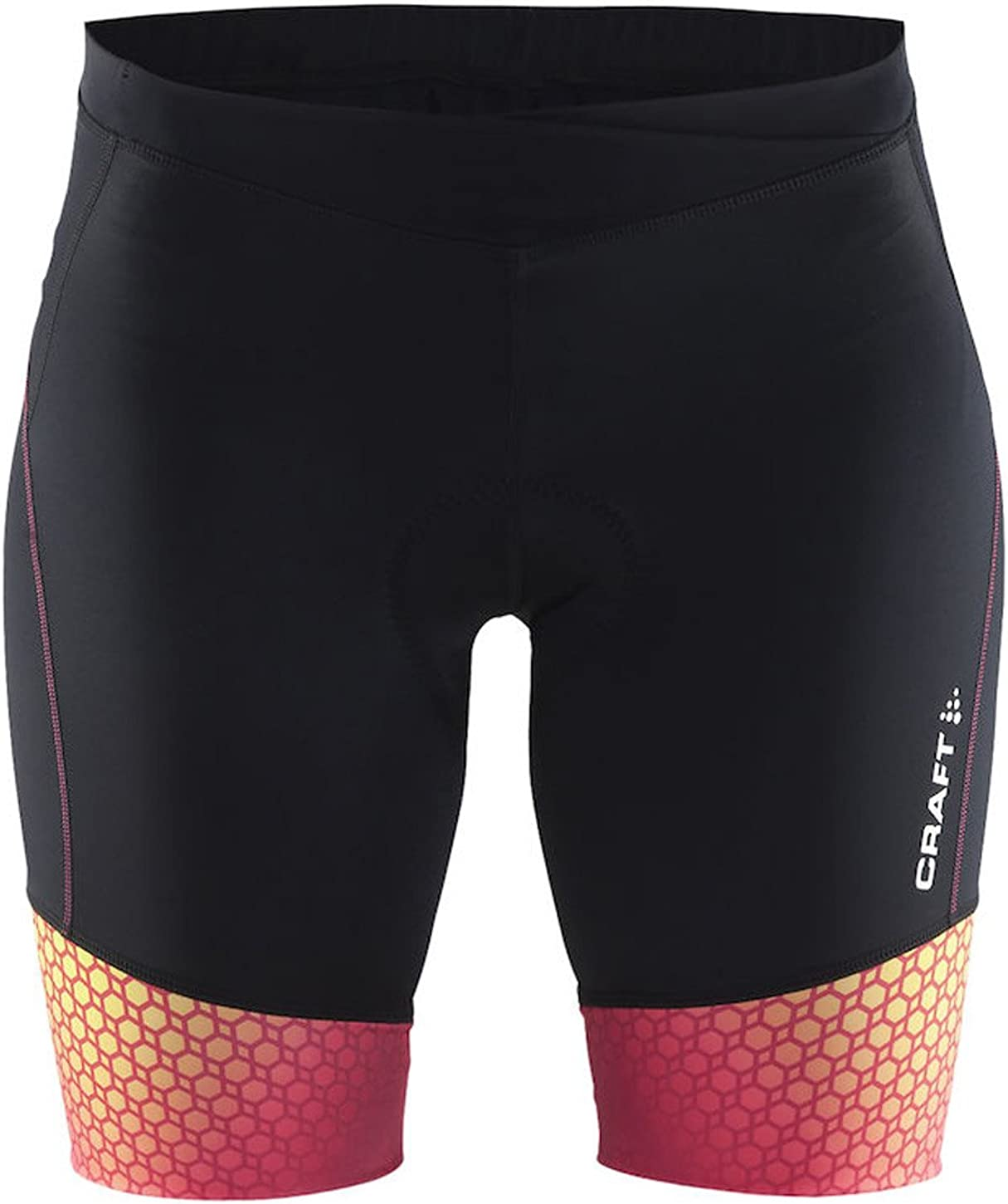 Craft Womens Velo Bike and Cycling with Chamois Pad UPF 50+ Tight Shorts