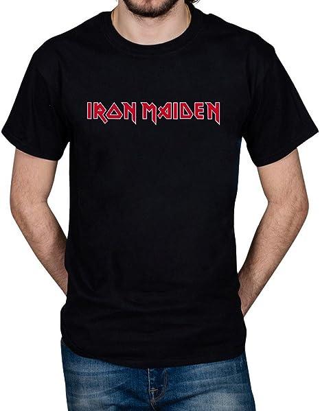 Camiseta unisex oficial de Iron Maiden, Book of Souls, con logotipo