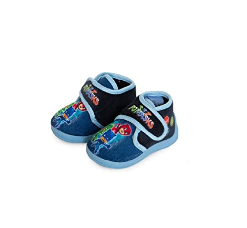 PJ MASKS - Zapatillas de Estar por casa de Material Sintético para niño Size: MISURA : 21-22: Amazon.es: Zapatos y complementos