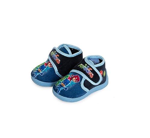 PJ MASKS - Zapatillas de Estar por casa de Material Sintético para niño Size: MISURA