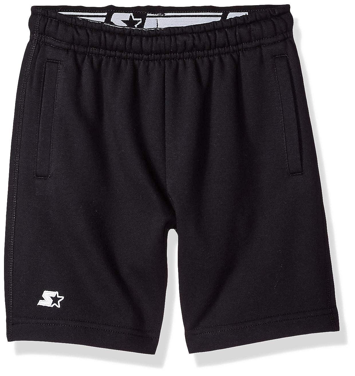 Exclusive Starter Girls 7 Lightweight Fleece Shorts with Pockets