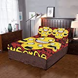 Happy More Custom Smile Everyday Duvet Cover Sets 3-Pieces Bedding Set