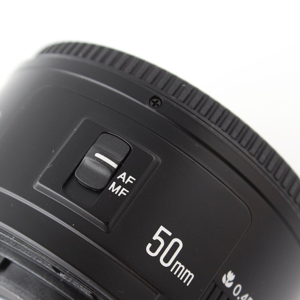YONGNUO 35mm F2 Lens 1:2 AF//MF Wide-Angle Fixed//Prime Auto Focus Lens for Canon EF Mount EOS Cameras