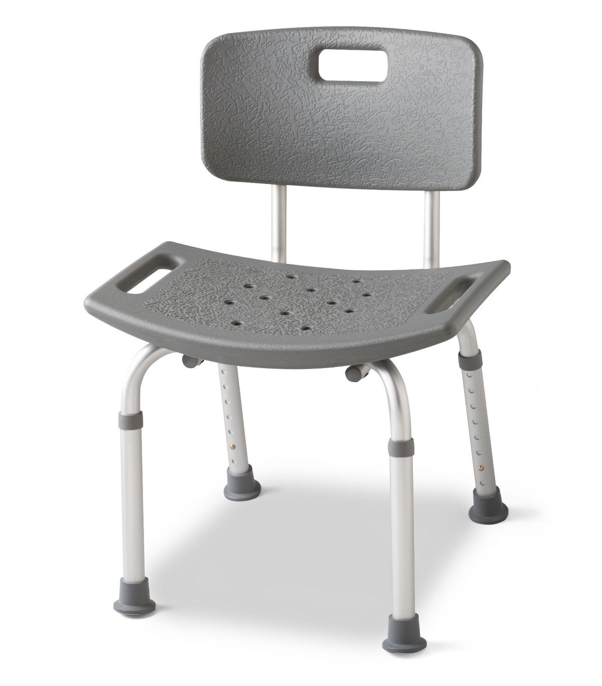 Medline Guardian Bath Bench with Back by Medline