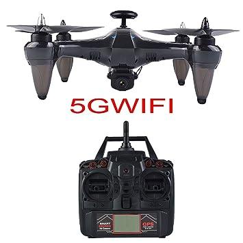 5G Dron Plegable con HD Camara, 720p Drone Gran Angular WiFi FPV ...