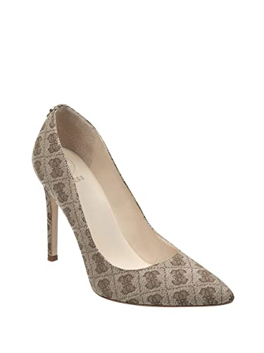 48947c14a99 GUESS Women s Pointed Logo-Print Pumps
