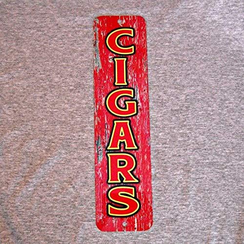 Pub Cigar Humidor - TiuKiu Metal Sign Cigars Tobacco Smoker Cigar Shop Smoking Man Cave Garage Club Wall Art Plaque