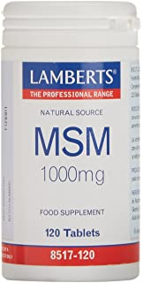 Lamberts MSM 1000 mg - 120 Tabletas