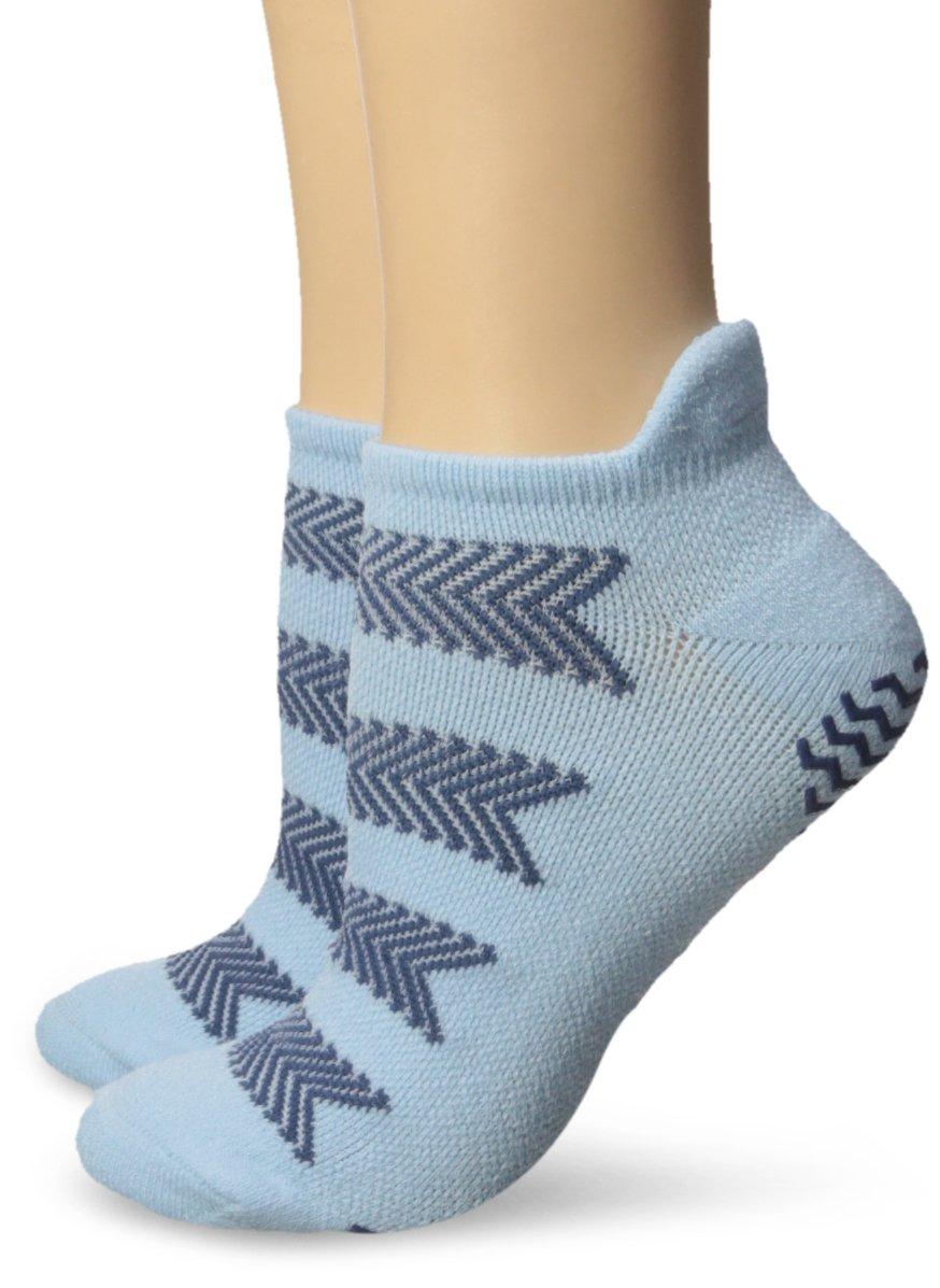 adidas Women's Studio No Show Socks (2 Pack)