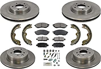2x Centric Parts Front Disc Brake Caliper Repair Kit For Infiniti G37 2008~2013