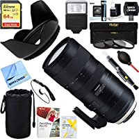 Tamron (AFA025C-700) SP 70-200mm F/2.8 Di VC USD G2 Full-Frame Lens For Canon + 64GB Ultimate Filter & Flash Photography Bundle (For Nikon)