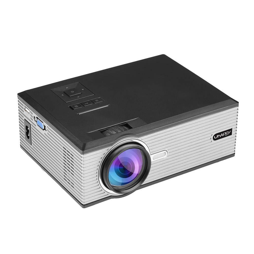 Prosperveil-UHAPPY U88 Mini proyector HDMI HD 1080P LED Teatro en ...