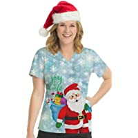Med Couture Joy to The World Anna Scrub Top